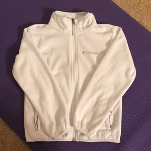 Columbia girls light fleece jacket